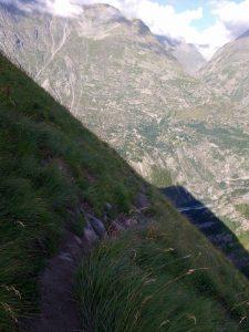 Descent path