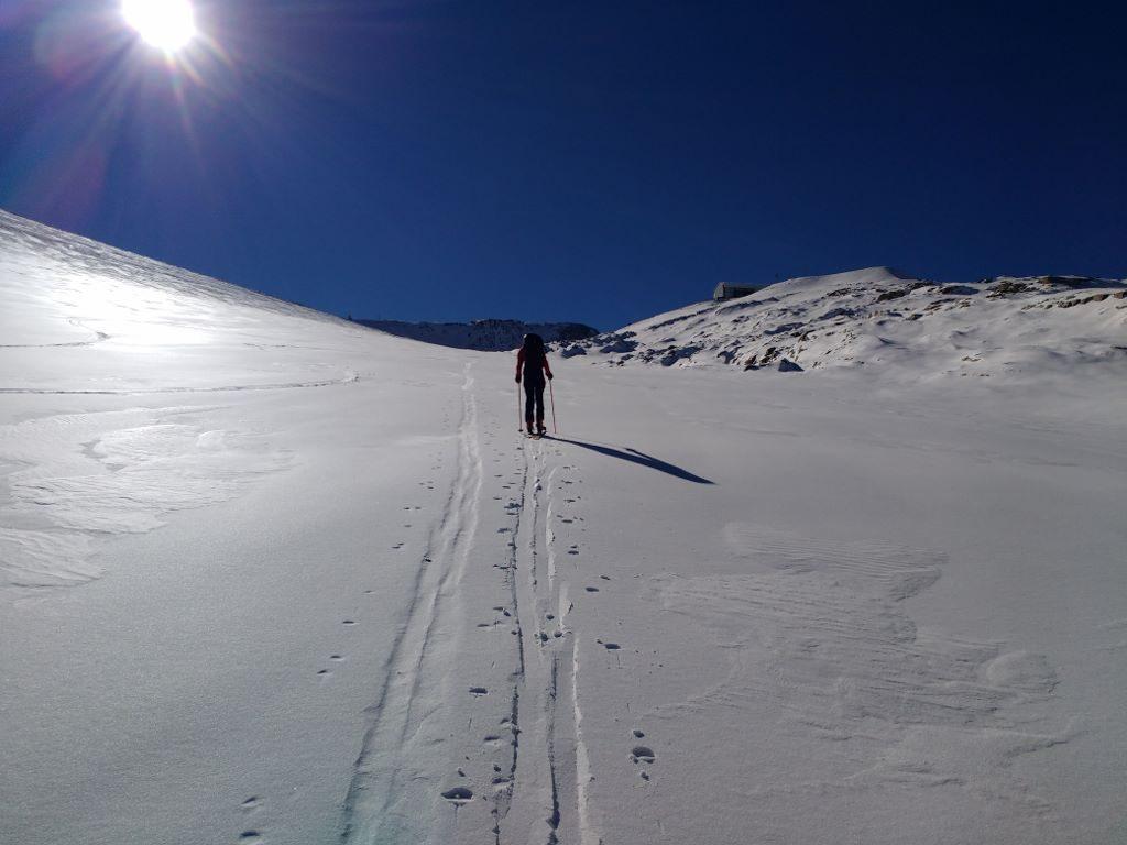 Ski tour by L2A glacier