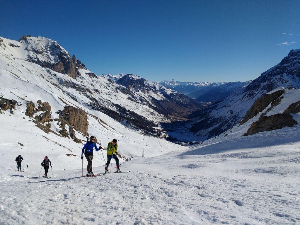 Lauteret ski touring