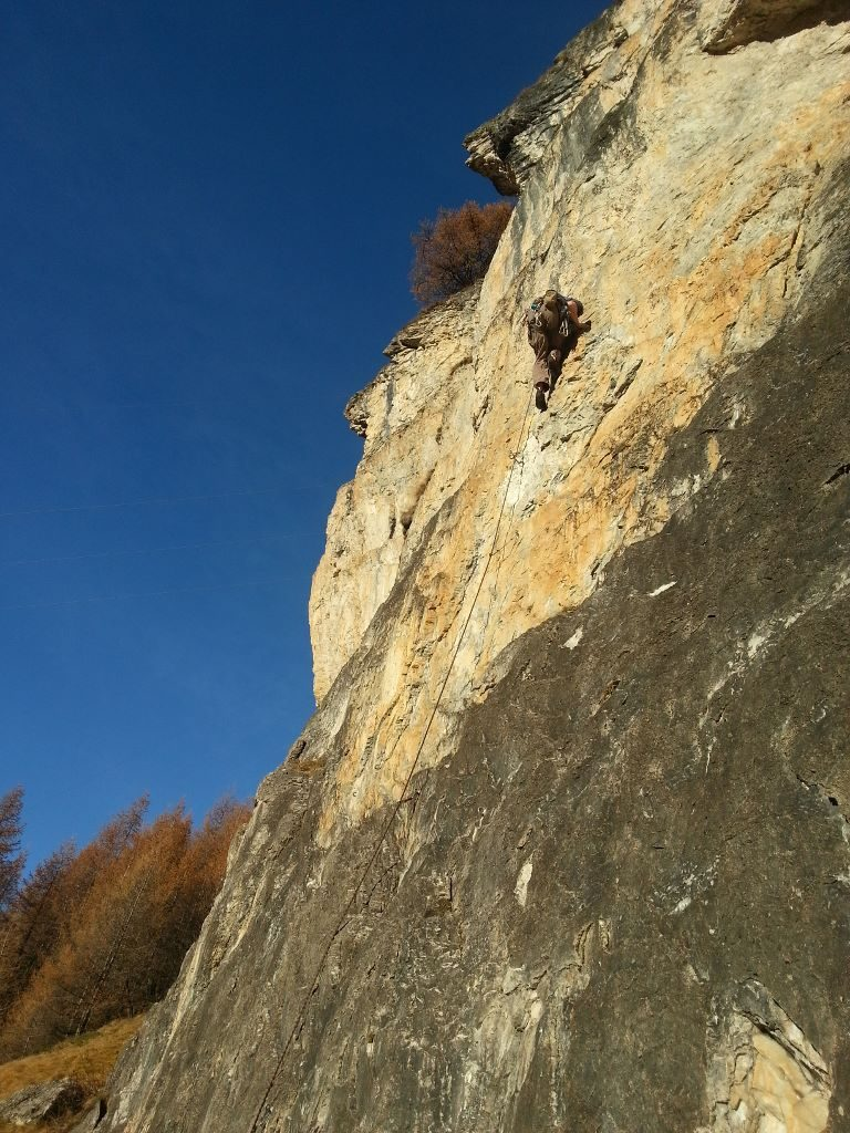 Rock climbing - Tignes