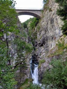 New bridge in St. Christophe-en-Oisans