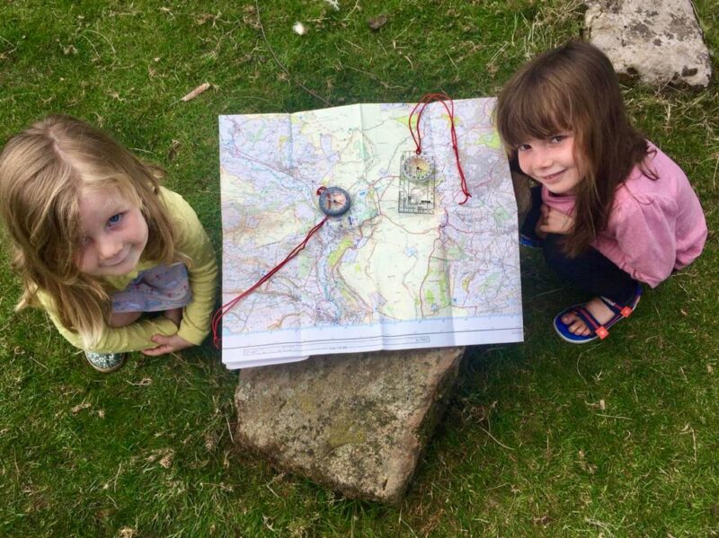 Childrens navigation course